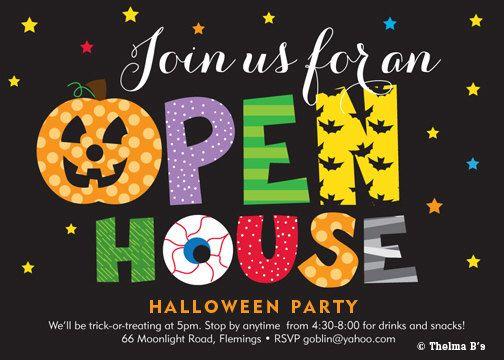 Halloween Party Invitation Kids Halloween Printable