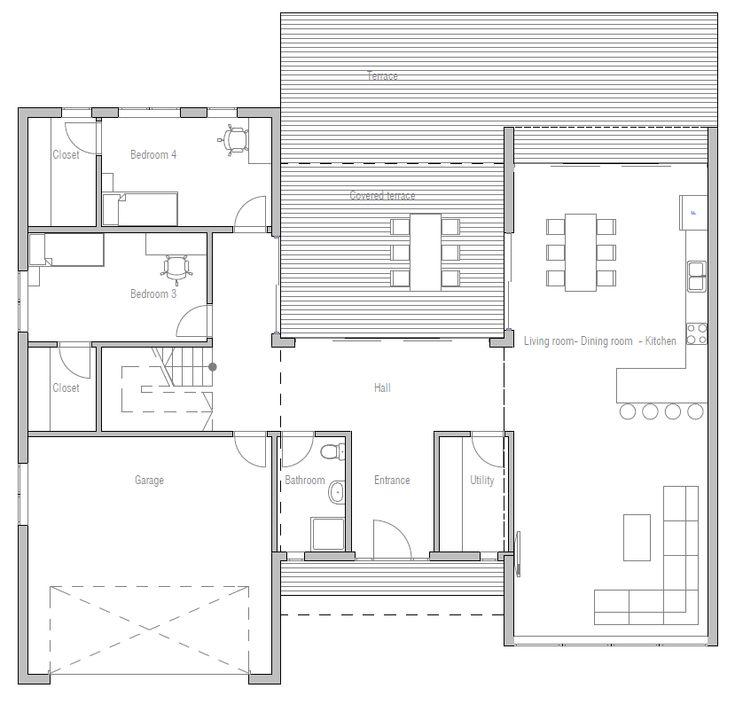 421 best plans maisons images on Pinterest | Homes, Architecture ...