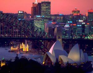 Breathtaking view on Sydney
