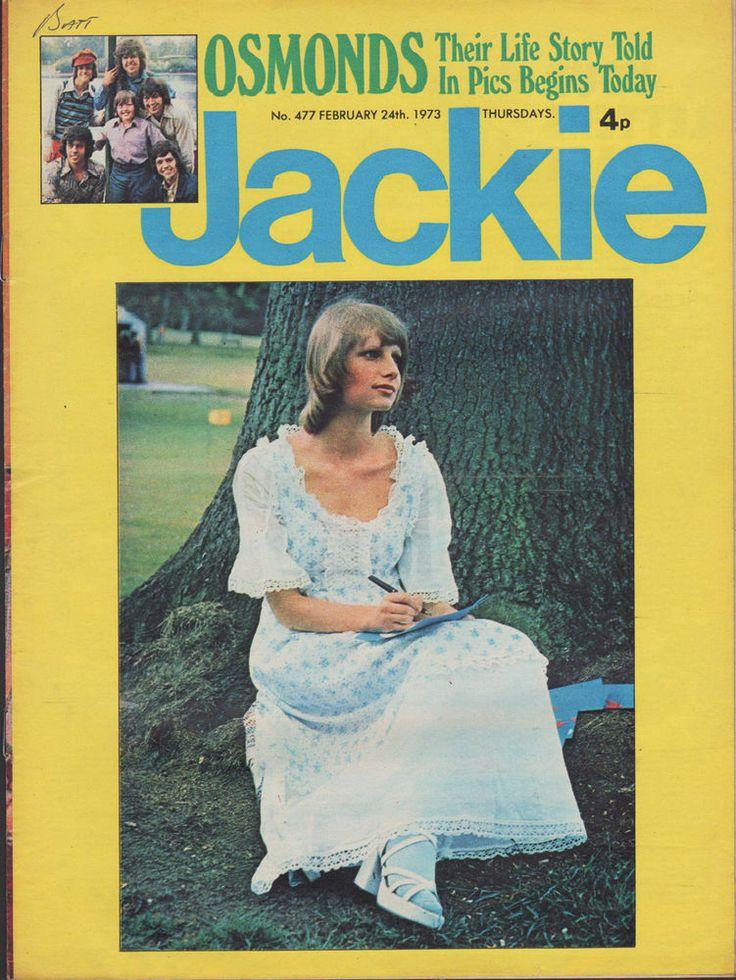 Jackie Magazine 24 February 1973 No.477     Paul McCartney     The New Seekers