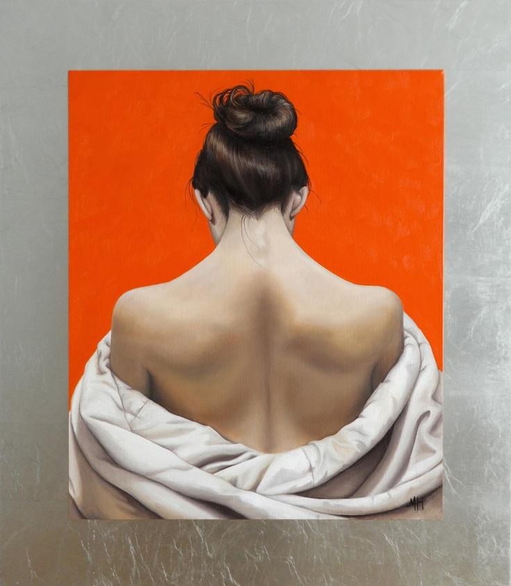 """Espalda de mujer"" oleo sobre tela 60 x 50 cm 2011. Oil Painting on canvas by Maydul Art"