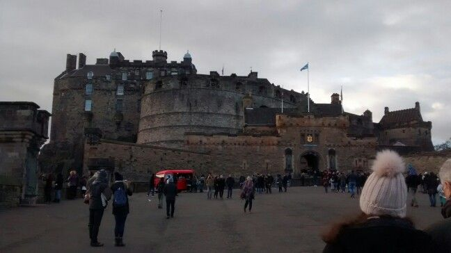 Edinburgh Castle/ Edinburgh - UK 01/2017