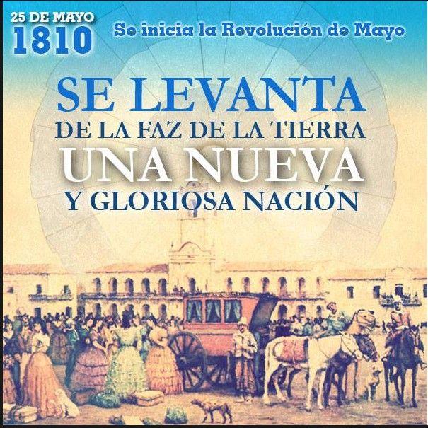"""25 de Mayo de 1810 -2014 """"Revolución de Mayo"""""""