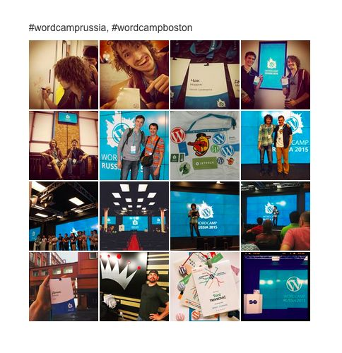 Get Instagram photos by multiple tags.