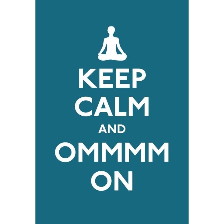 """Saying """"OM"""" is actually a form of meditation. It is a mantra, or vibration, that is traditionally chanted at the beginning and end of yoga sessions."""