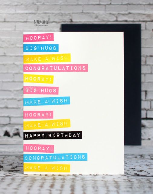 BerryCloud. Creo, ergo sum: Happy Birthday / Card