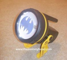 How to Make Your Own Bat Signal