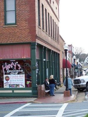 Henry's Louisiana Grill                         Acworth,Ga. The ohh lala sause is the shizz