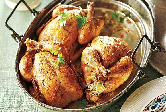 Roasted Stuffed Cornish Hens recipe - Canadian Living