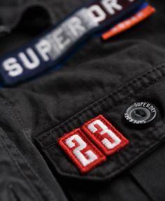 Superdry Camisa Delta - Camisas para Hombre