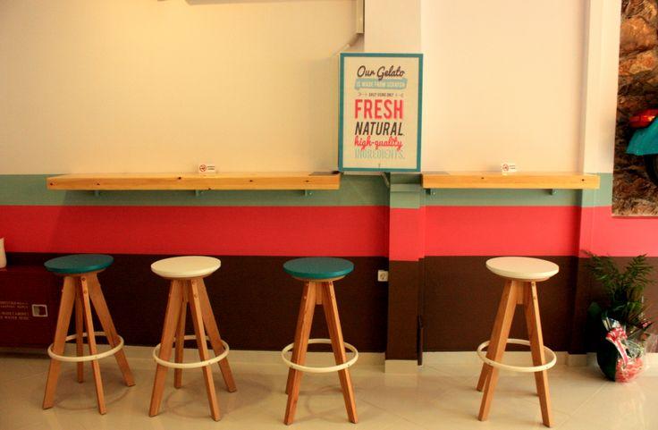 gelateria d'Italia!!! interior design