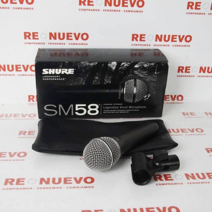 Micrófono SM58 SHURE nuevo#mocrófono#  de segunda mano#shure