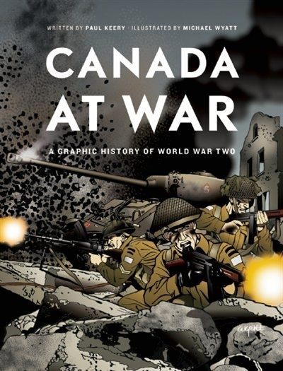 This book is definitely graphic and more of grade 6 and up, but I would still include it in the display. It is another way to read about World War II and what our soldiers had to deal with. It explains and visualizes so well for our students just why these soldiers deserve to be honoured. War is horrifying and when students flip through this I think they will a better understanding of that, especially if we explain to them that this is based on history and not just fiction.
