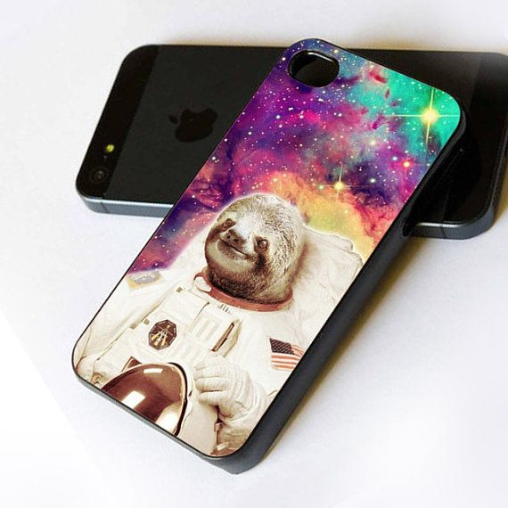 sloth iphone case dolla dolla bill sloth astronaut in galaxy nebula custom 12989