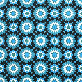 Stock Online. Immediate shipment worldwide, patterns 20x20cm, plain tiles 20x20cm, tiles 15x15cm, patchworks, hexagonal,, skirting, borders