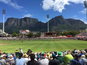 South Africa Vs England One Day Cricket in Cape Town. Marks tells of the great day of cricket.