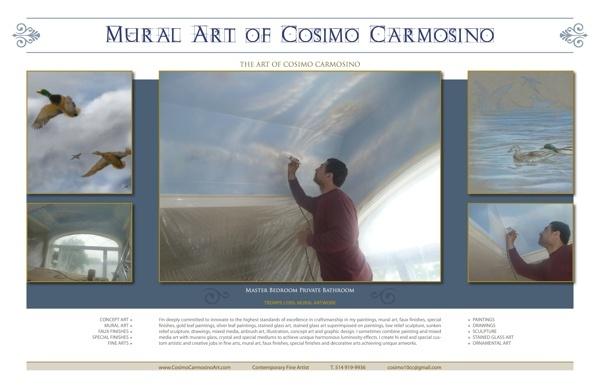 COSIMO CARMOSINO ART_Fine Arts, Mural Art, Design by Cosimo Carmosino, via Behance