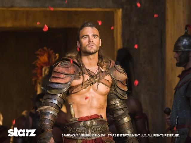 Gannicus from Spartacus im not feeling the new Spartacus season 3
