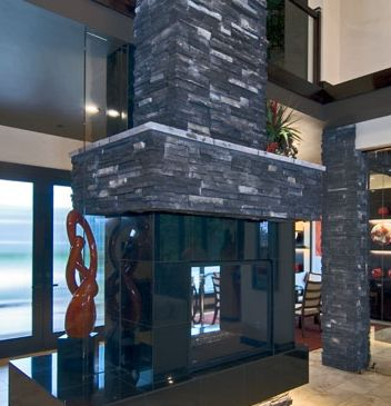 Pro Fit Alpine Ledgestone Black Rundle Cultured Stone by Boral