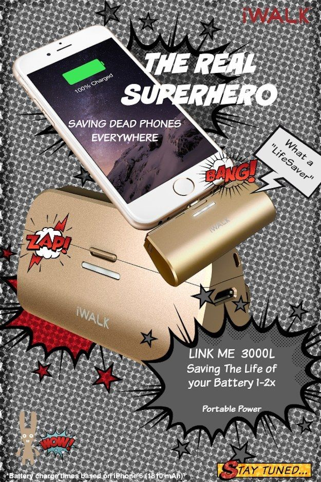 THE REAL SUPERHEROES By IWALK USA