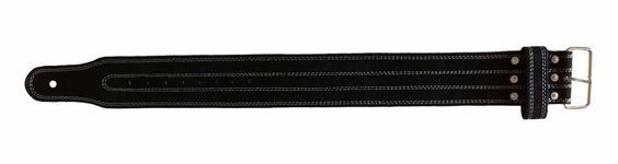 Powerlifting Leather Belts Single Prong Medium Black (Ships from Chicago area, USA and Arrives Fast!) *** Special offer just for you. See it now! : 99 cent sports and outdoors