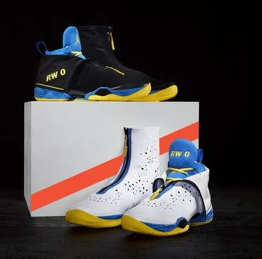 Russell Westbrook's Jordan XX8 playoff shoes