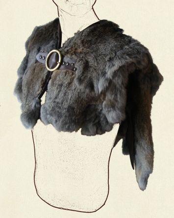 http://battle-ready.com/home/cloaks-mantles/fur-mantle Price:  £140
