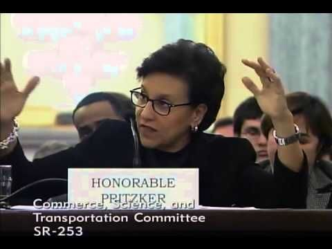 TED v Penny:  Elitism In Commerce Committee ==▶ Sen. Ted Cruz Q&A with Commerce Secretary Penny Pritzker in Senate Commerce Committee - YouTube  Penny is the Hyatt heir who purchased most of the cost of Obama's $11 million Hawaii home....then she became Sec Of  Commerce