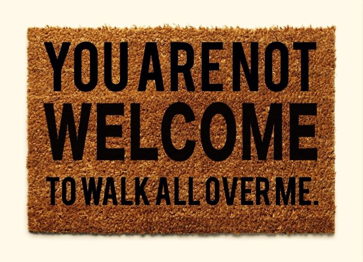 Image result for doormat meme