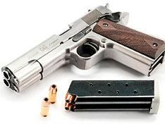 Double-barreled handgun