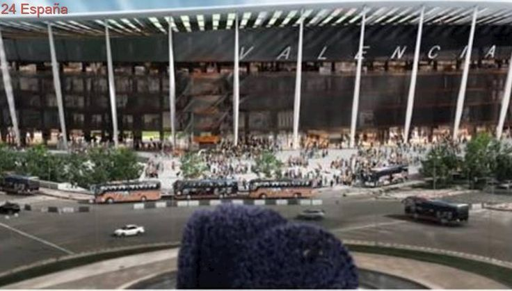 El Valencia enseña su renovado proyecto para el nuevo estadio