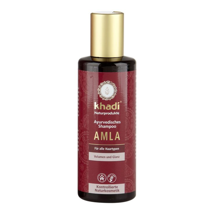 Khadi Amla Shampoo 210ml  - Günstig kaufen im Naturkosmetik-Shop BioNaturel