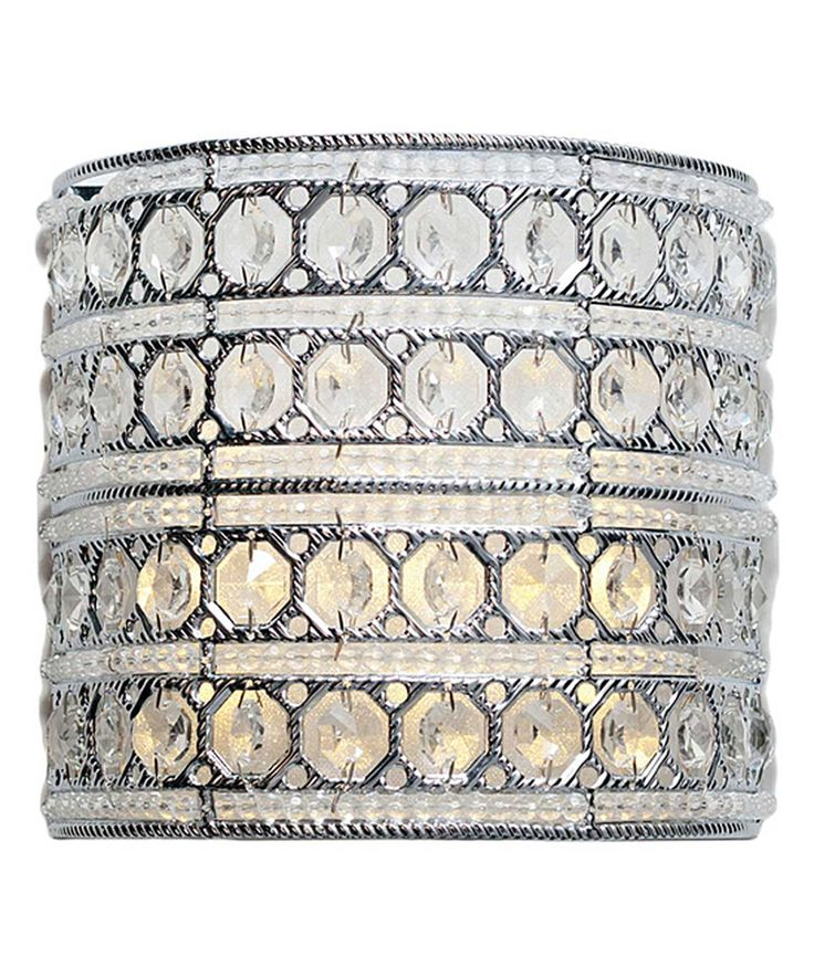 Look what I found on #zulily! Crystal Glam LED Wireless Wall Sconce by River of Goods #zulilyfinds