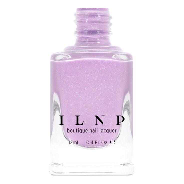 Soft Serve – Soft Lilac Holographic Nail Polish by ILNP – nail polish