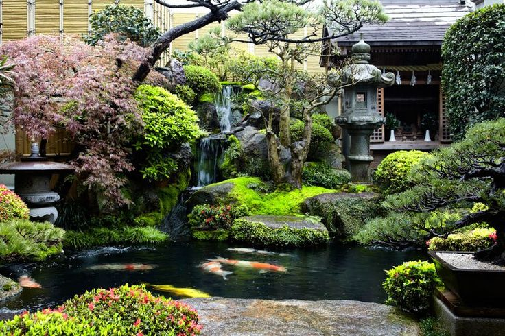 Picture of the Day: Backyard Garden in Japan  So beautiful I may have to start working on my backyard right now!