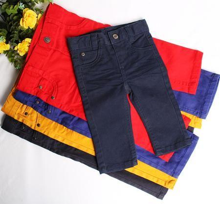 Оригинальные торговли осенью 2015 новые брюки для мальчиков, сплошной цвет тенденции моды хлопок Джокер мальчиков брюки  — 210.98р.