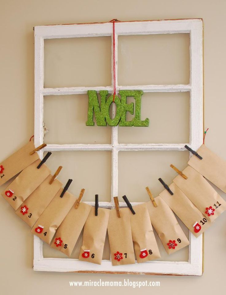 Diy Calendar Crafts : Diy advent calendar with printable bible verses season