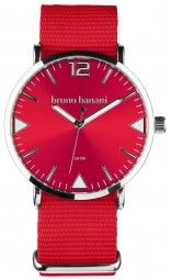 Bruno Banani Cool Color Edition Uhr BR30055 - rot