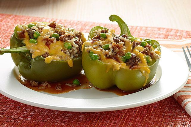 Try our recipe for Slow-Cooker Stuffed Peppers soon. The cheesy goodness of Slow-Cooker Stuffed Peppers only requires 15 minutes of prep time.