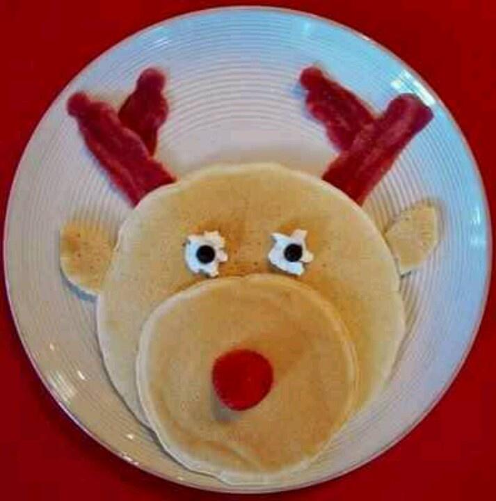 Reindeer pancakes(: