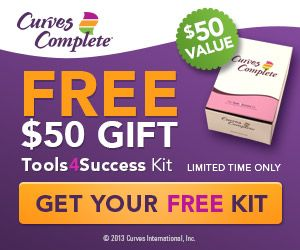HURRY! Free $50 gift from Curves! Ends tonight!