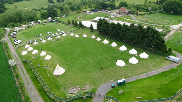 Stunning Wedding Venue close to #Stonehenge Wigwam & 25 Sole Tents From £1500-£2500/ event