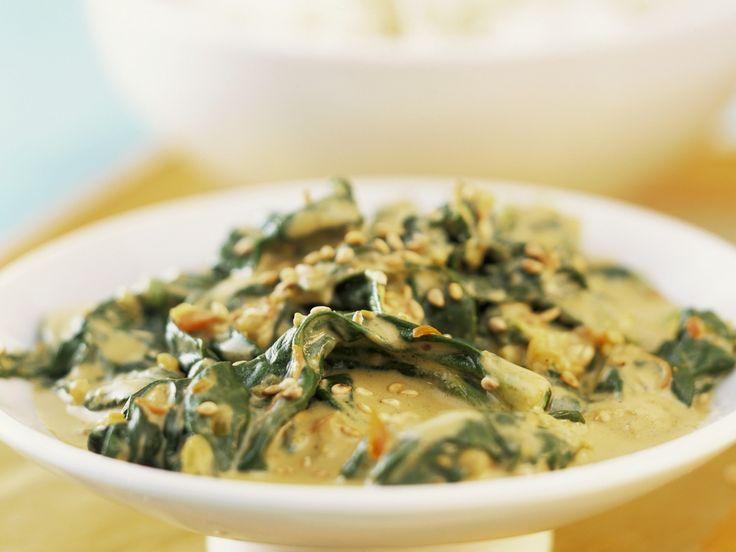 Indisches Spinat-Joghurt-Curry - smarter - Zeit: 30 Min. | eatsmarter.de