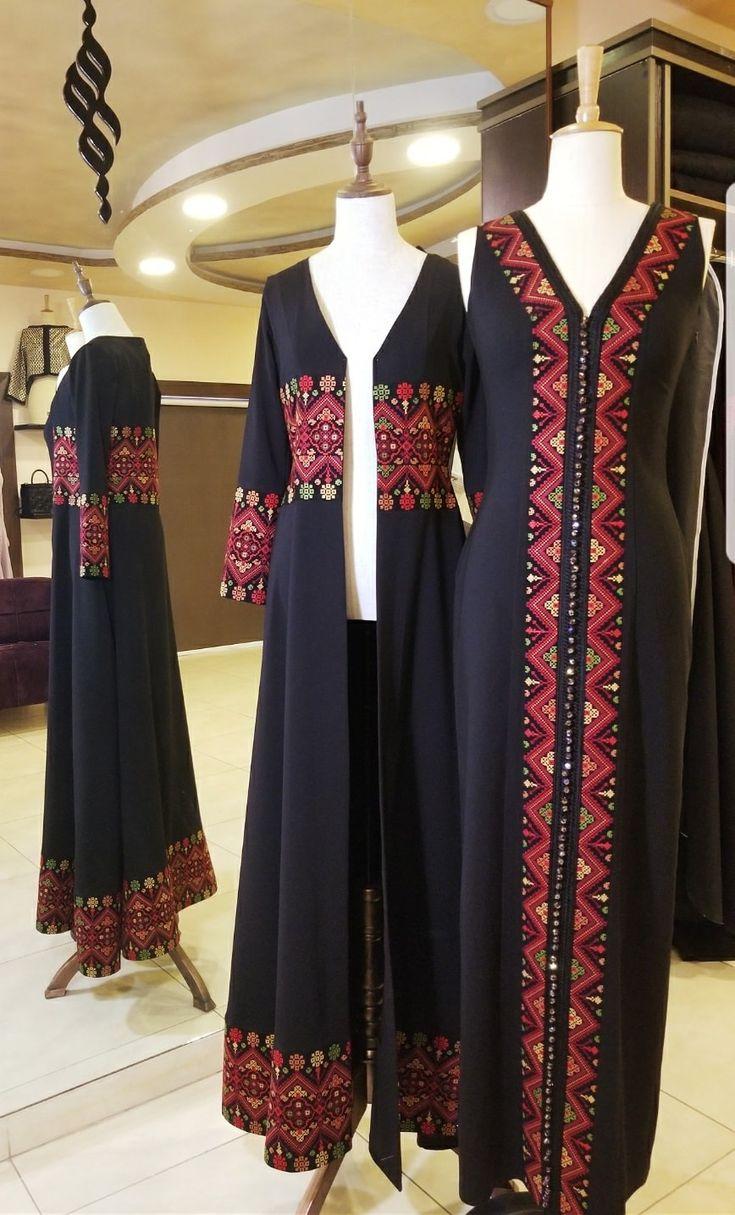 Thob-inspired dresses for women (thoub/thobe/thawb)