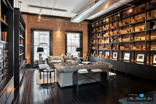 best 25 new york loft ideas on pinterest industrial interior design industrial design and. Black Bedroom Furniture Sets. Home Design Ideas