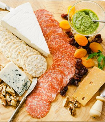 How about a lovely platter full of a selection of our cured meat, delicious cheese & home made dips to go with your Friday afternoon... http://on.fb.me/1JOsi6f