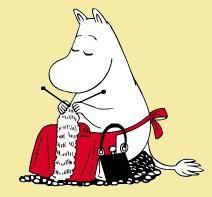 Moomin knits