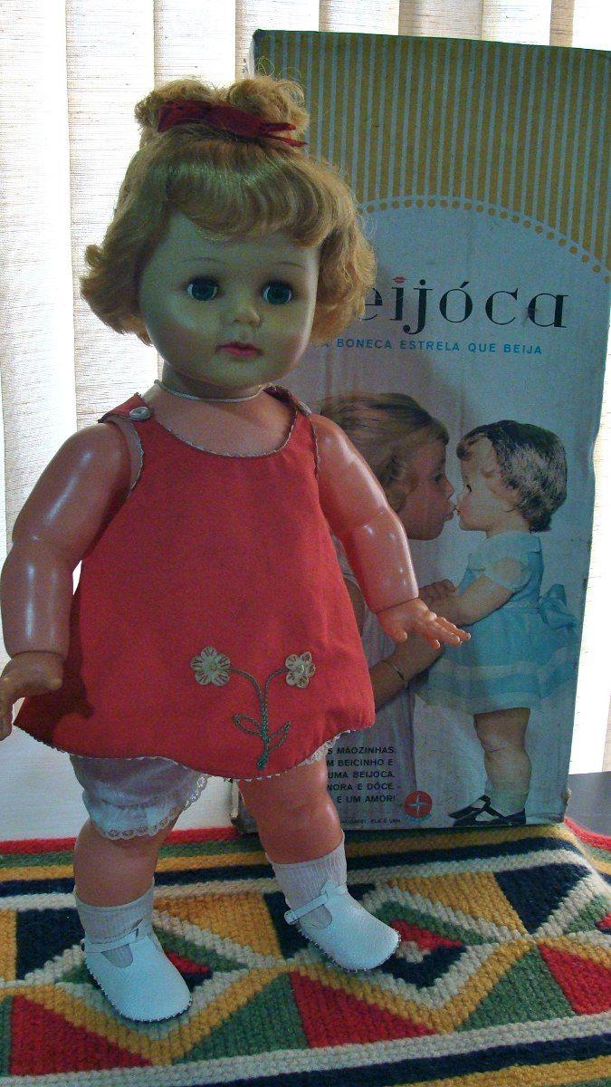 Boneca Antiga Beijoca Estrela 60s Na Caixa - R$ 500,00 no MercadoLivre