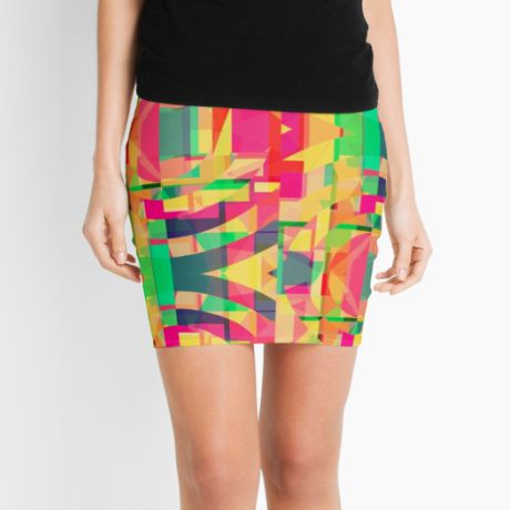 Midnight Memories Pencil Skirt  #fimbis #redbubble #shapes #circles #skirt #style #styleblog #fashion #fashionblogger #fashionblog #styleblogger #pink #designer #pencilskirt #patterns #abstract #geometric #magenta #green #orange #fblogger #purple #yellow