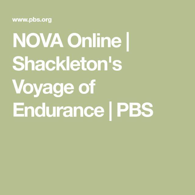 NOVA Online | Shackleton's Voyage of Endurance | PBS